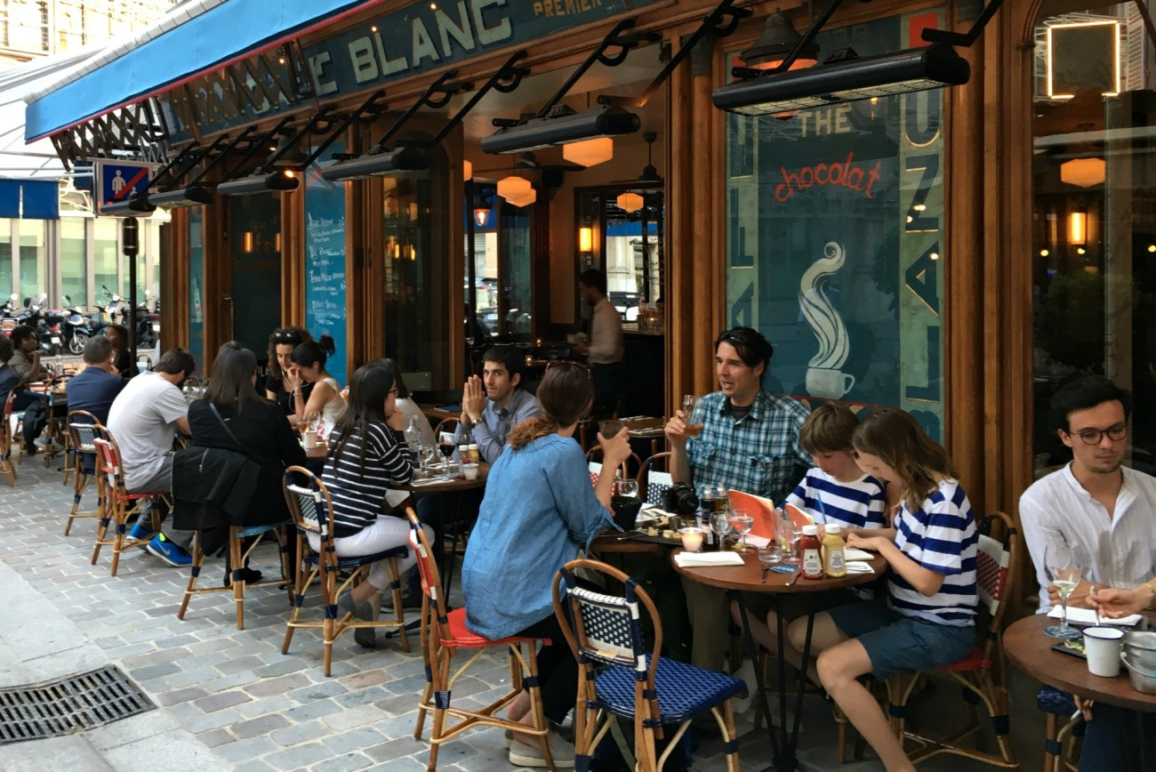The best escargot in Paris is at Cafe Blanc.