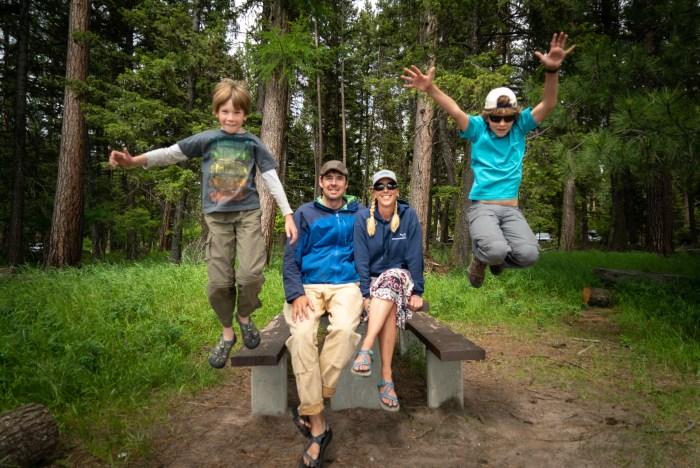 family portrait in montana