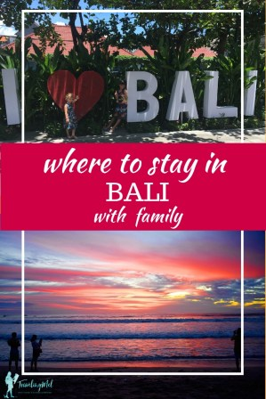 Where should you stay in Bali with a family? From beachfront, to in-town, to resorts, we came up with the best places to stay in Bali, Indonesia.  | Bali with kids | things to do in Bali | Bali resorts #indonesia  #travel #bali #accommodation #hotels  #islands #nomads
