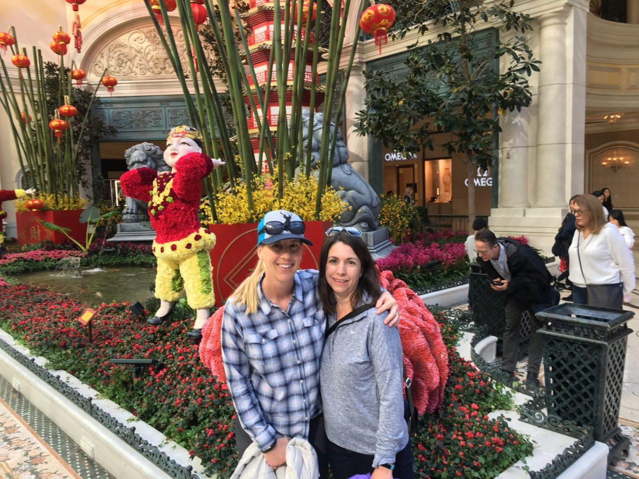 Bellagio Conservatory and Botanical Garden Las Vegas