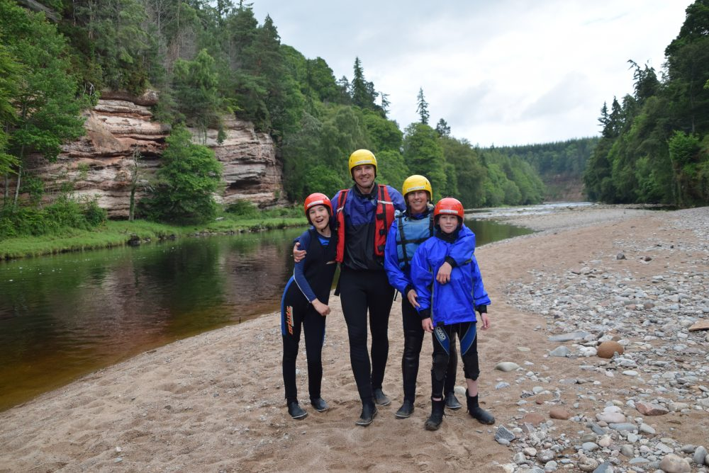 the best white water rafting in Scotland