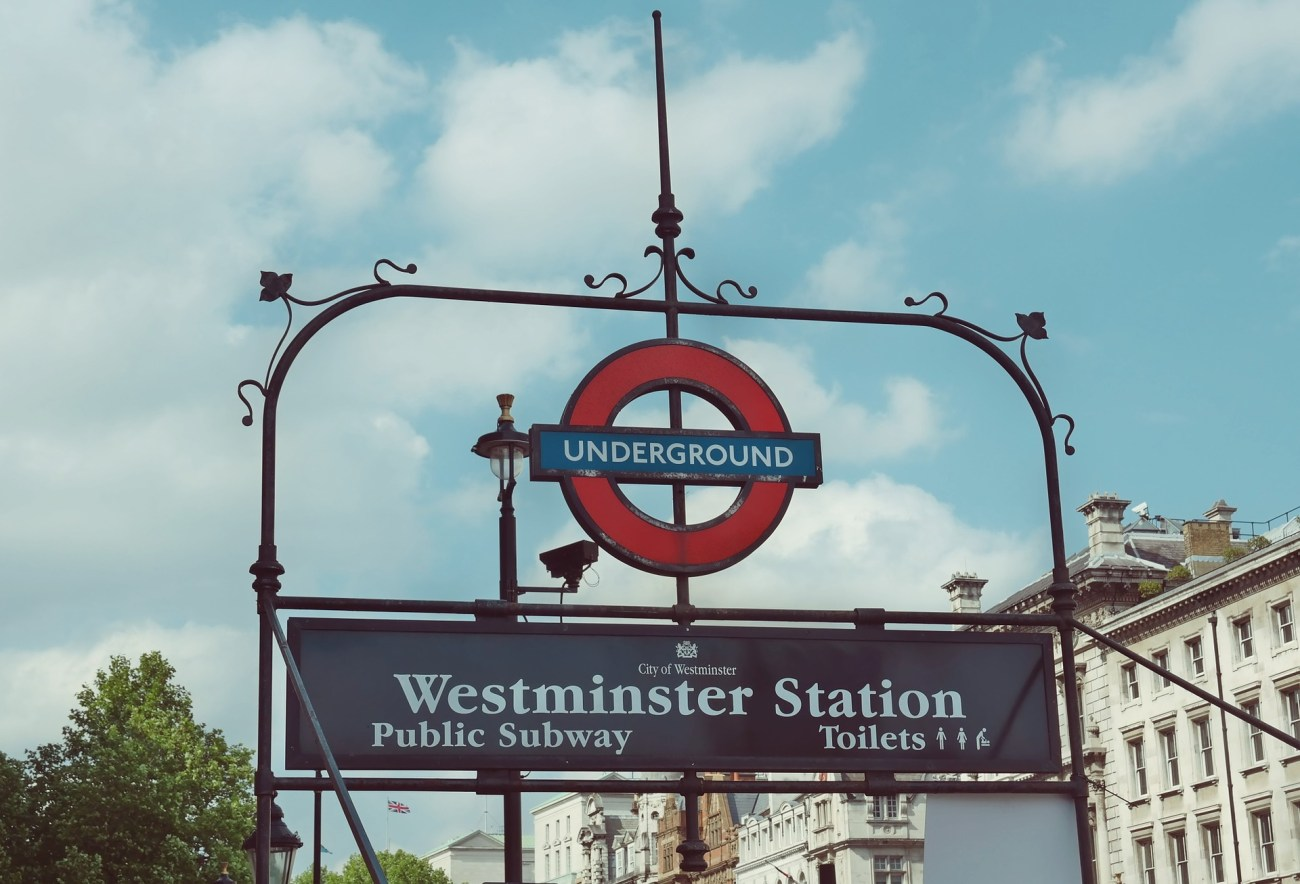 Westminster Station Harry Potter sites in London
