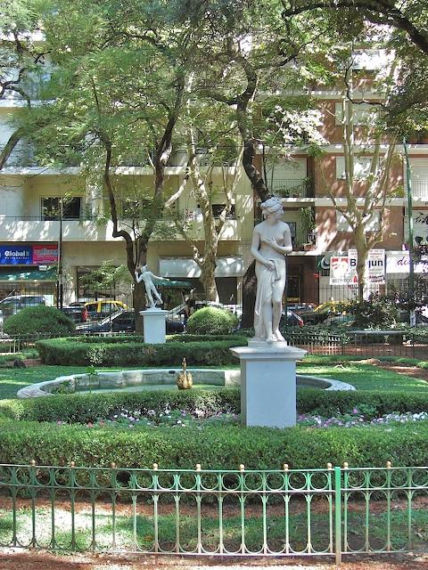 Statue garden