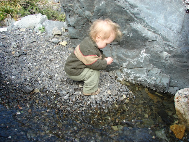 Playing with rocks
