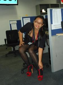 The Customer Service chick :)