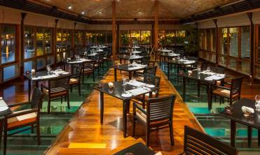 Lagoon Restaurant by Jean-Georges at the St. Regis Hotel