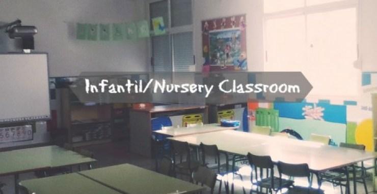 classroom in spain