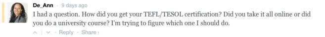 TEFL Courses