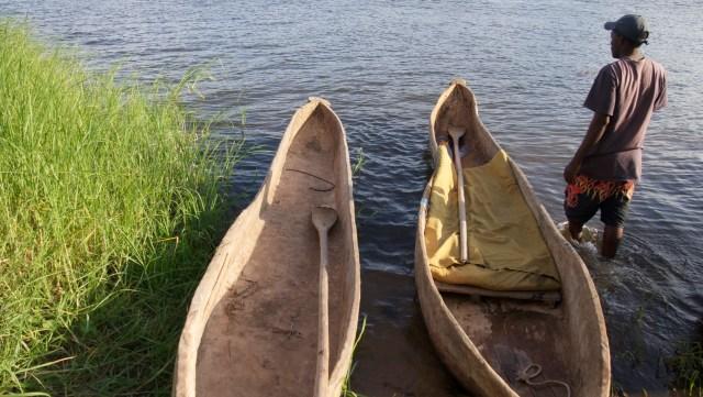 dugout canoes zambia