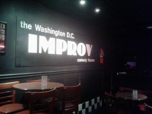 inside DC Improv club