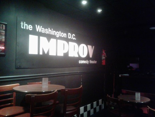 inside DC Improv club