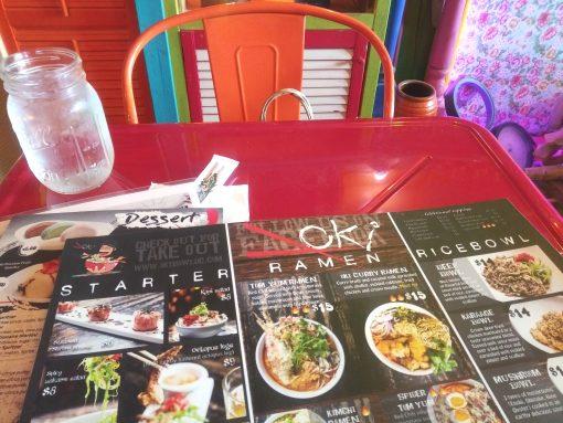 Oki bowl menu