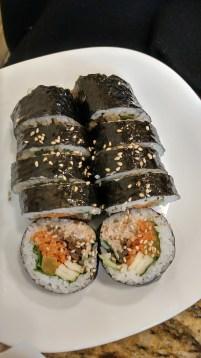 Yogi Korean Snack Bar: Tuna Mayo Kim Bab