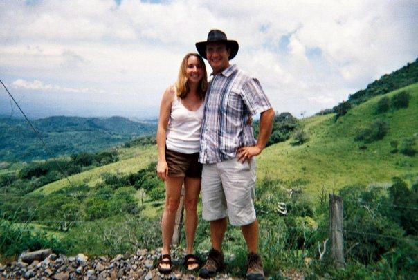 Honeymoon in Costa Rica scenic vista