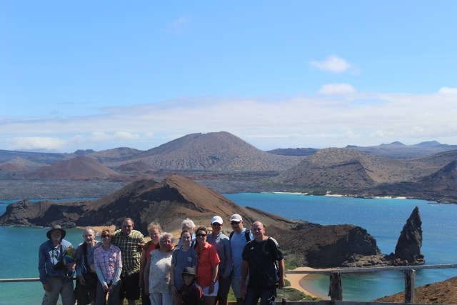 Visiting the Galapagos Islands - the tour group