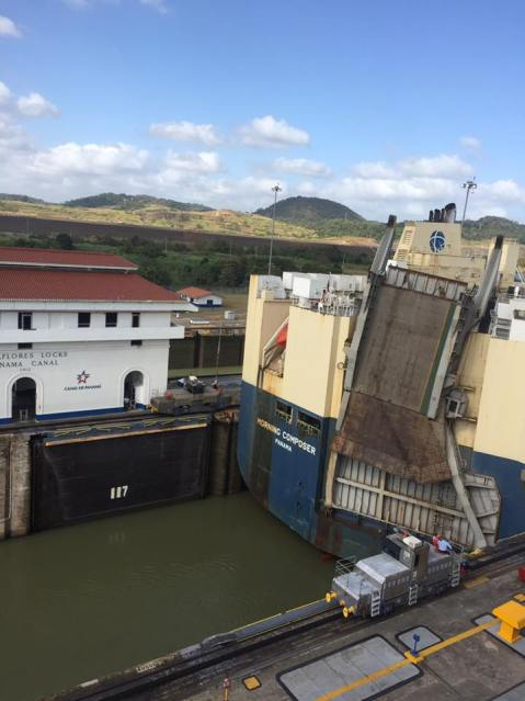 My first trip to Panama seeing the Panama Canal