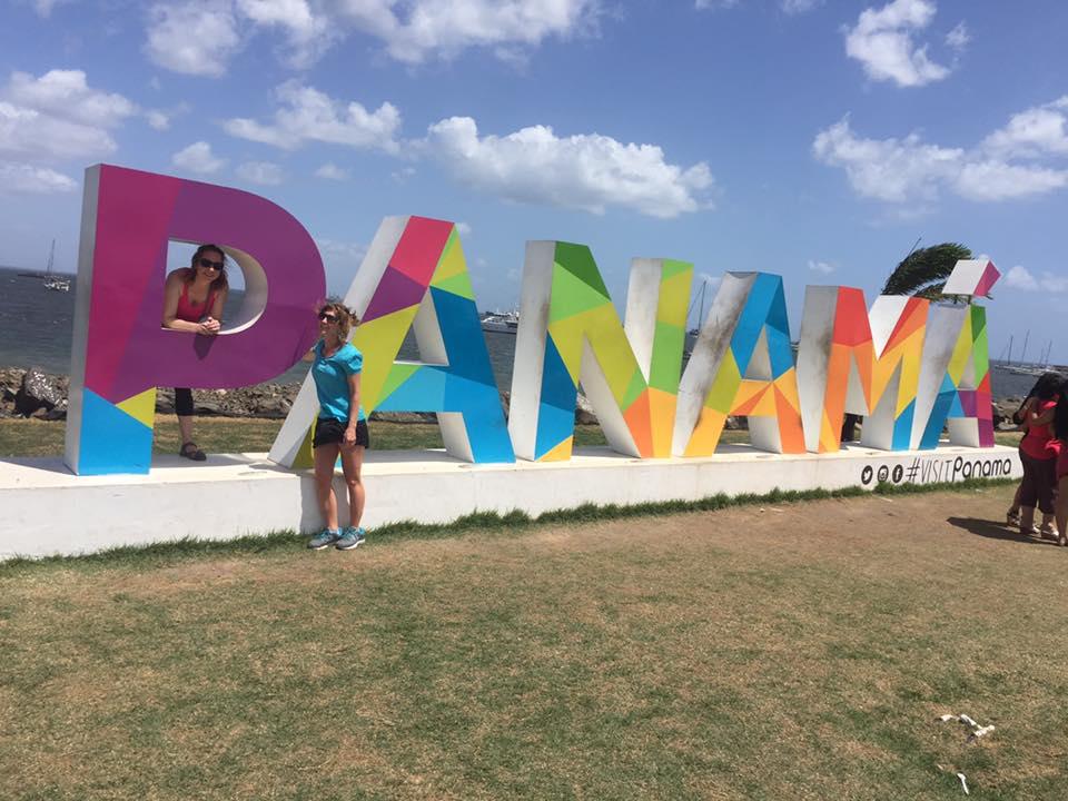 My first trip to Panama posing
