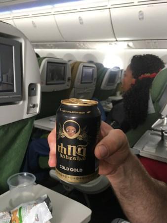 Visit Kenya and Tanzania; beer on the plane ride