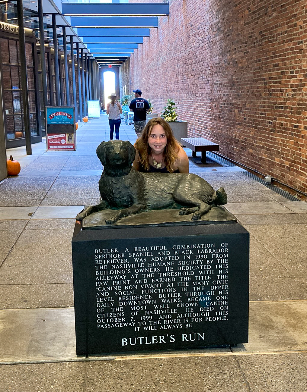 Finding Things to do during the Pandemic: Butler the Statue