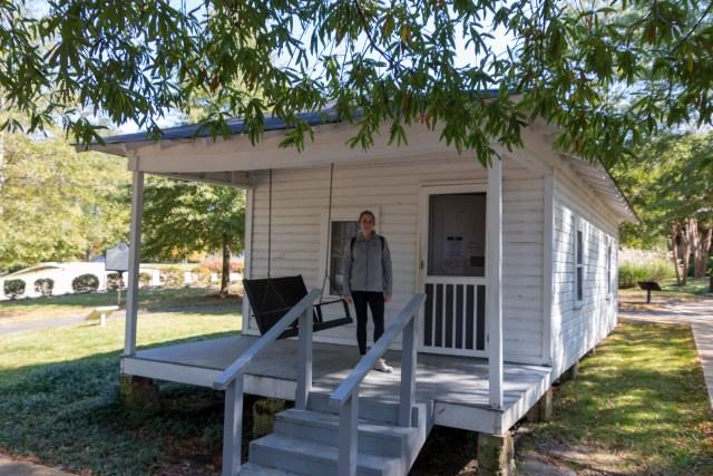 Elvis' Birthplace near Natchez Trace Parkway