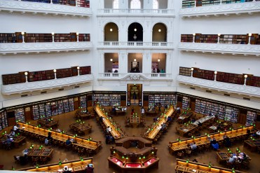 A library..