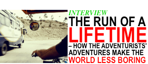 adventurists adventures, ice run, interview