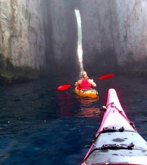 kayaking in france