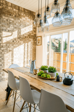 A bright and sunny kitchen home that could be available to you as a house sitter