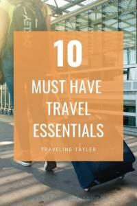 Must Have Travel Essentials
