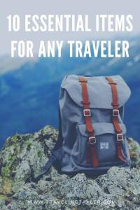Travel Essentials for any type of traveler