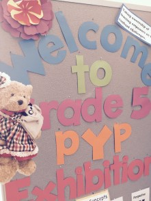 Exciting visit to the Grade 5 PYP Exhibition (PYPX)