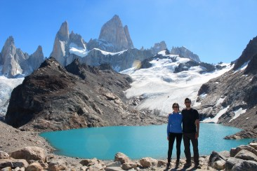 Top of Hike to Fitz Roy