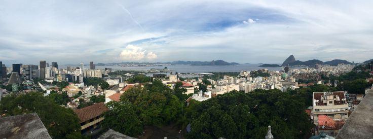 View from Parque dos Ruinos