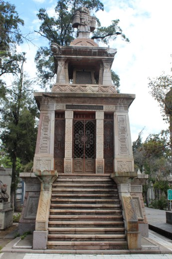 Tomb in Wealthy Section of Santiago's Cemetary