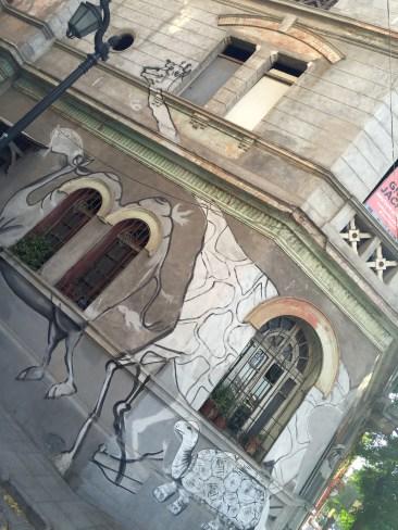 Graffiti in Santiago