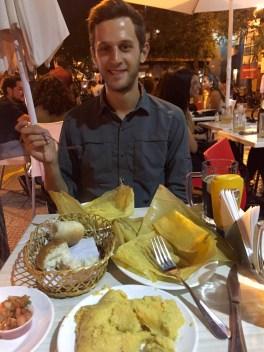 Humitas Dinner at Galindos in Bella Vista