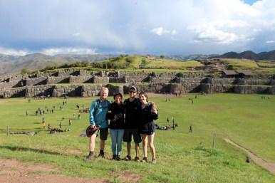 Creating Echos Across Saksaywaman