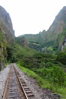 Day 4 Trek Along Train Tracks to Machu Picchu