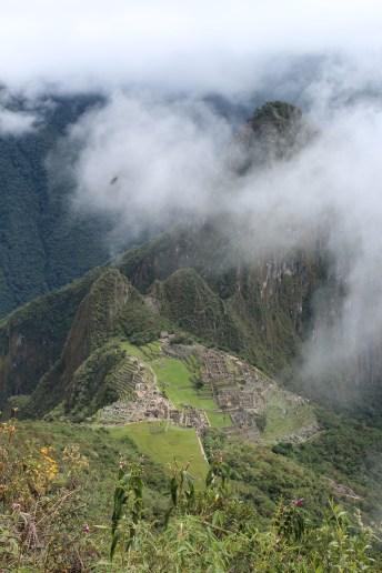 View from Machu Picchu Mountain