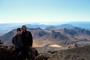 """Tongariro Hike - View From """"Mount Doom"""""""