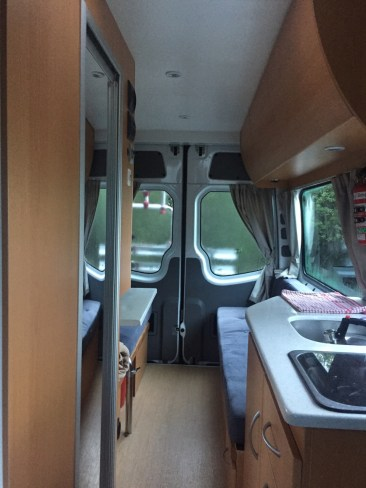 Campervan - View from Front