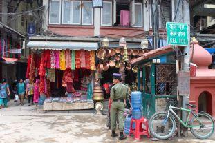 Vendors on the Streets of Kathmandu