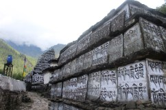 Buddhist Shrines Enroute to Namche Bazaar (Day 2)