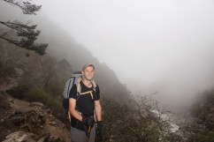 Caught in Fog Enroute to Dingboche (Day 5)