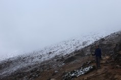 Limited View in Fog and Snow Enroute to Dughla (Day 6)