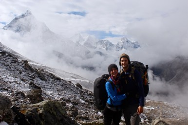 Clearing Fog Enroute to Lobuche (Day 6)