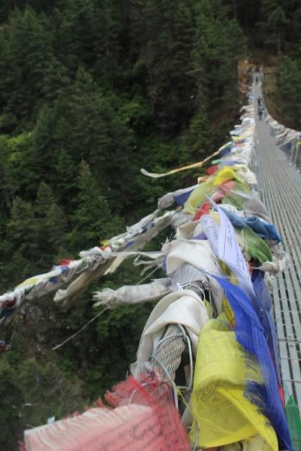 Prayer Flags on a Bridge (Day 11)