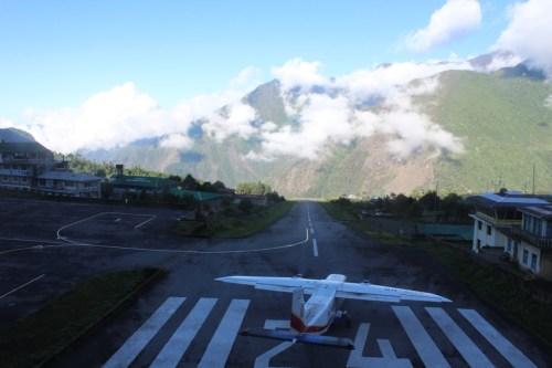 Short Runway at Lukla Airport