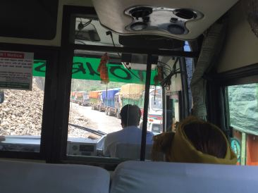 Crazy Bus Ride to Chitwan National Park