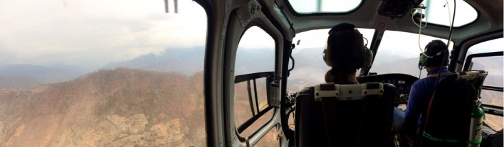 Panorama View in Chopper (Note Limited View)
